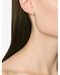 Melissa Joy Manning - Metallic Rough Cut Diamond Earrings - Lyst