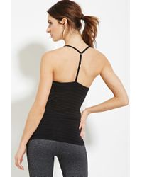 Forever 21 - Black Active Seamless Athletic Cami - Lyst