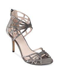Vince Camuto - Gray Wari Evening Sandals - Lyst