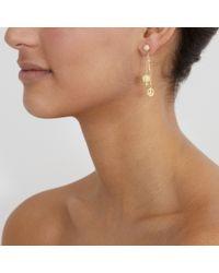 Carolina Bucci - Yellow Peace Charm Earrings - Lyst