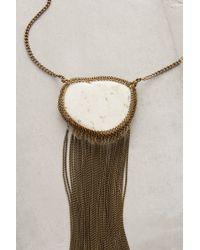Lena Bernard - Metallic Cocheta Fringe Necklace - Lyst