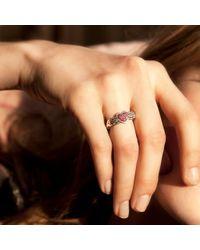 Pamela Love | Metallic Pave Aeternum Ring | Lyst