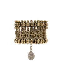 Natalie B. Jewelry | Metallic Basilica Bracelet | Lyst