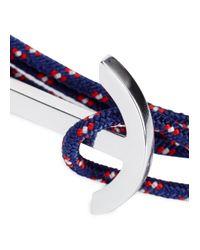 Miansai | Blue Brass Rope Hook Bracelet for Men | Lyst