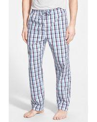 Derek Rose - Multicolor Plaid Cotton Lounge Pants for Men - Lyst