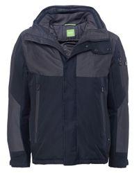 BOSS Green Blue Jabs Jacket for men