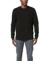 Cotton Citizen | Black The Malibu Crew Sweatshirt for Men | Lyst