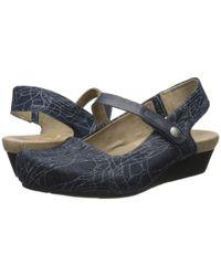 Otbt | Blue Glorieta Flats in Jeans | Lyst
