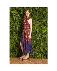 Stella McCartney Pink Printed Silk Dress