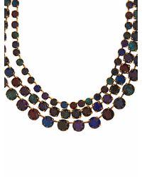 Erickson Beamon | Multicolor Splash Necklace | Lyst