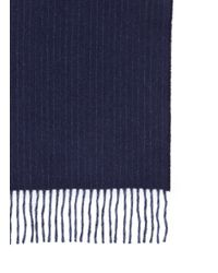 J.Crew   Blue Cashmere Double-faced Scarf for Men   Lyst