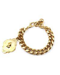 Lulu Frost | Metallic Victorian Plaza Charm Number Bracelet #2 | Lyst