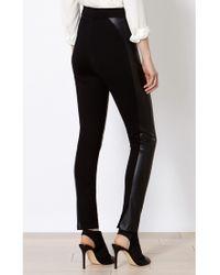 Karen Millen Black High Waisted Leggings