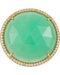 Irene Neuwirth - Green Gemstone Ring - Lyst