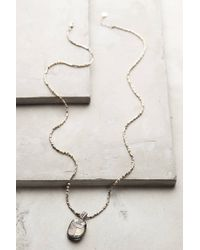 Gas Bijoux | Metallic Mother-of-pearl Scarab Necklace | Lyst