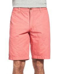 Tailor Vintage | Pink Canvas Walking Shorts for Men | Lyst