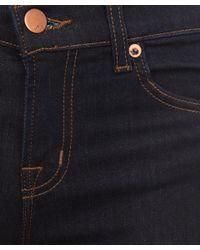 J Brand Blue Indigo 818 Power Stretch Mid Rise Bootcut Jeans