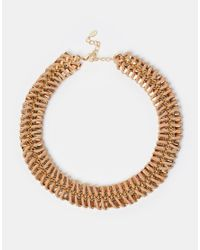 ALDO | Natural Arydda Black Rope Of Gold Necklace | Lyst