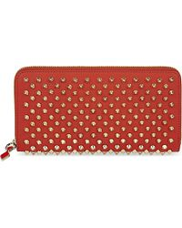 Christian Louboutin - Orange Panettone Wallet - Lyst
