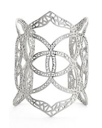Kendra Scott | Metallic 'roni' Filigree Wide Cuff | Lyst