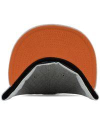 huge selection of 5f1d0 b42b9 Lyst - KTZ Texas Longhorns Heather League Basic 59fifty Cap in Gray ...