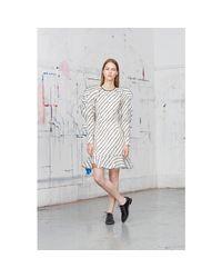 Erdem Natural Liora Silk Dress