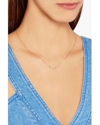 Melissa Joy Manning | Metallic 14-karat Gold Diamond Necklace | Lyst