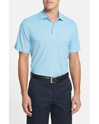 Cutter & Buck Red Blaine Oxford Polo for men