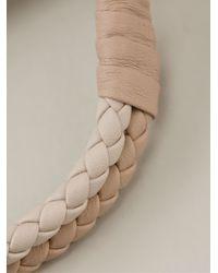 Bottega Veneta   Natural Intrecciato Bracelet   Lyst