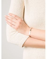 Hoorsenbuhs Pink 'monogram' Bracelet