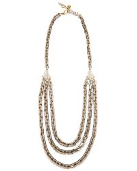 Lulu Frost | Metallic Poison Long Necklace - Gold | Lyst