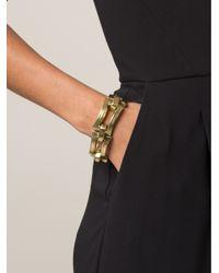 Vaubel - Metallic Chunky Rectangle Bracelet - Lyst