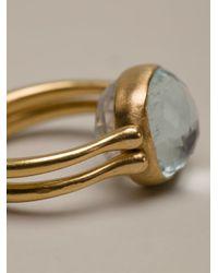 Marie-hélène De Taillac - Blue Reversible Ring - Lyst