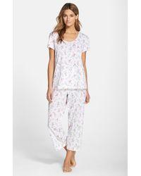 Carole Hochman | White Capri Pajamas | Lyst