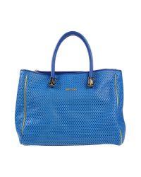 Just Cavalli - Blue Handbag - Lyst