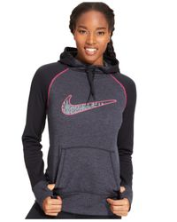 Nike Black All-Time Therma-Fit Pullover Hoodie