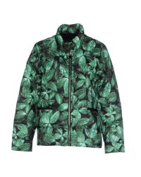 Moncler Gamme Rouge | Green Down Jacket | Lyst