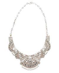 Deepa Gurnani | White Clarissa Necklace | Lyst