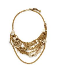Lulu Frost | Metallic Bord La Mer Multi-chain Necklace | Lyst