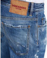 DSquared² - Blue Dean Jeans for Men - Lyst