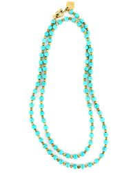 Ashley Pittman | Blue Turquoise Shanga Necklace | Lyst