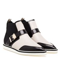 Nicholas Kirkwood White Ryder Ankle Boots