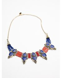 Free People | Blue Karen London Womens Free Bird Necklace | Lyst