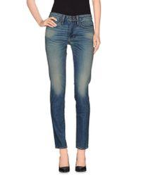 6397 - Blue Denim Trousers for Men - Lyst