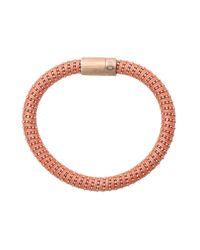 Carolina Bucci | Pink Coral Twister Band Bracelet | Lyst