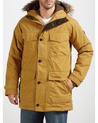 Timberland Natural Wilmington Long Parka Jacket for men