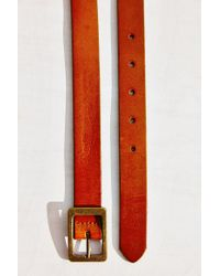 BDG - Brown Rectangle Buckle Belt - Lyst