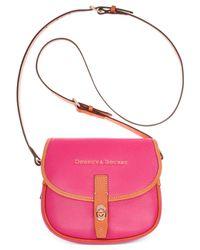 Dooney & Bourke | Pink Claremont Field Bag | Lyst