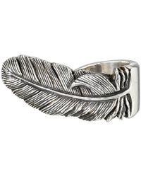 King Baby Studio | Metallic Raven Feather Ring | Lyst