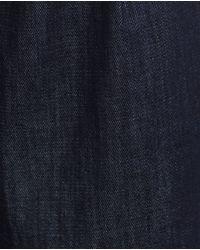 Zara | Blue Cropped Jeans | Lyst